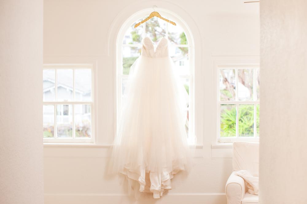 """Orlando"" sweetheart tulle wedding gown"