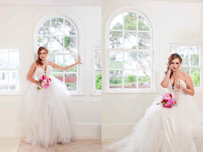 """Orlando"" tulle wedding dress"