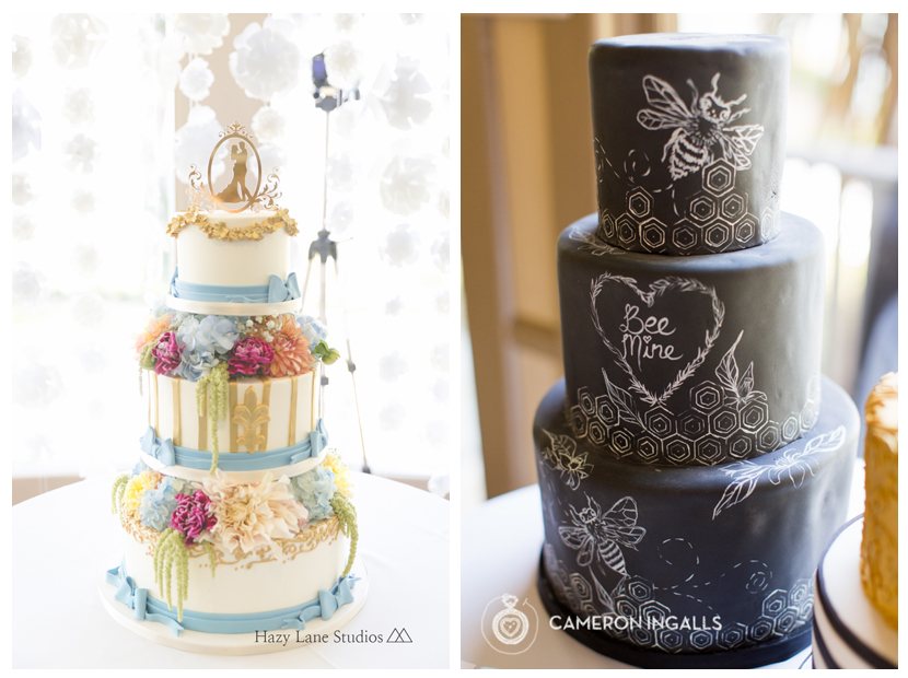Torn between these two amazing cakes. Both of them are super unique and delicious!