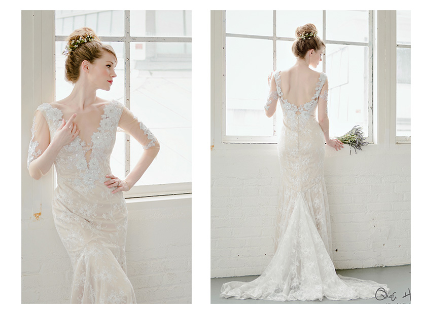 Industrial Shabby Chic JuLee Collection - Shabby Chic Wedding Dress
