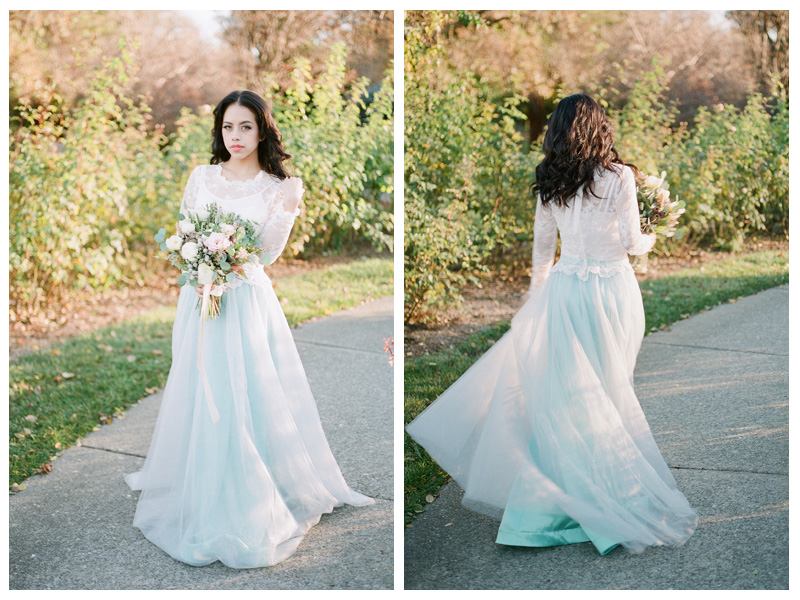 "Bridal separate ""Cupid"" tulle skirt in color seafoam is now back with a 10% discount until 4/30/16."