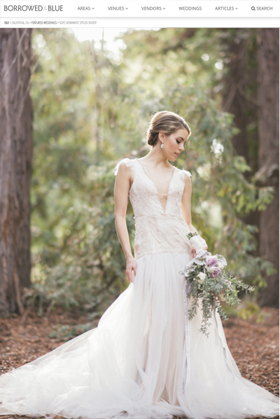 Lavender Woodlands Park Wedding