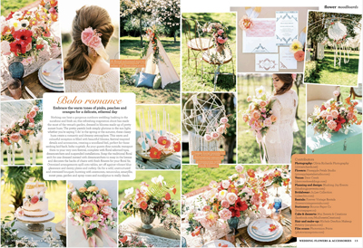Wedding Flower Magazine Feature