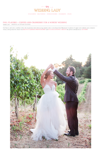 Organic Colorful Fall Byington Winery Wedding