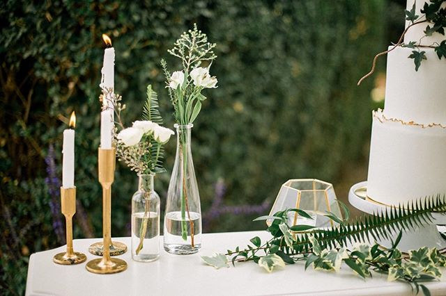 { Minimalist Wedding Idea } Could Meghan and Harry's #wedding inspire a new trend? Sometimes less is more when done in an #elegant way like this table #design created by @desertchildevents and @withflourish 🌿 #modernwedding #juleechic ……………………………………………………………………………. 📸  @heatherselzer // 🌸 @withflourish // design & planning @desertchildevents // 🍰 @baycakedesign // rentals @viewpoint_events @williamspartyrentals // 📍@fitzplace