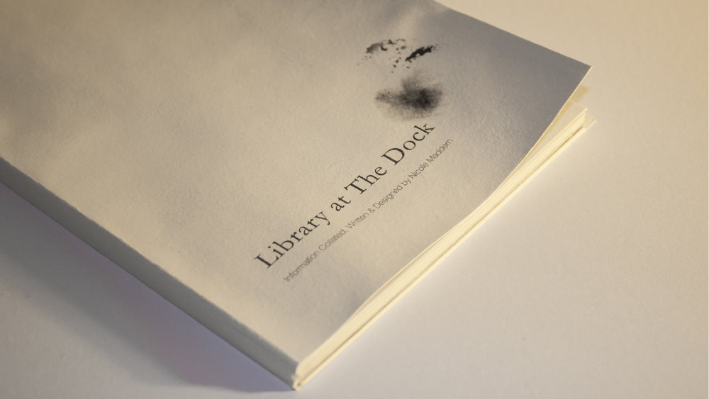 Library at The Dock - Experimental Book Design