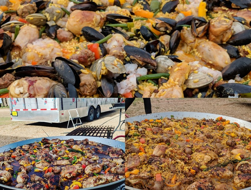 Paella by Wild Whisk (Las Brisas Steakhouse)
