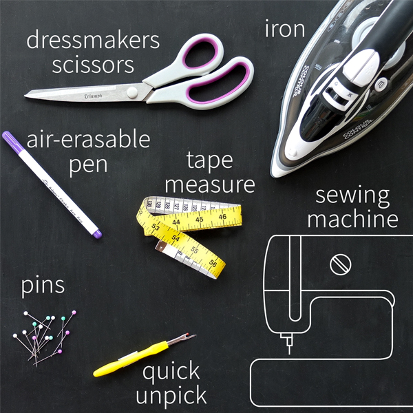 Essential sewing tools & equipment