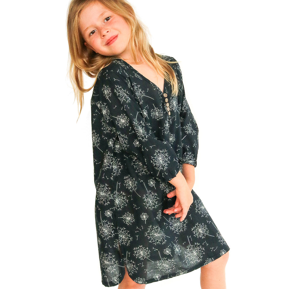 Aruba Kaftan in Midnight