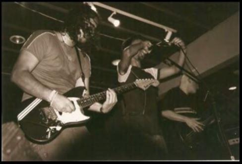 Tetsuo live, c.1997.