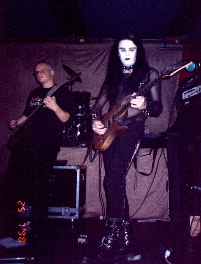 Disjecta Membra (Jaz and Barney), Pothic Gunk, 25 July 1998, Valve Bar, Wellington. Photo: Lisa?