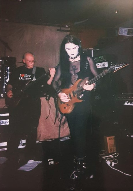 Disjecta Membra (Jaz and Barney), Pothic Gunk, 25 July 1998, Valve Bar, Wellington. Photo: Rosebud Garland.