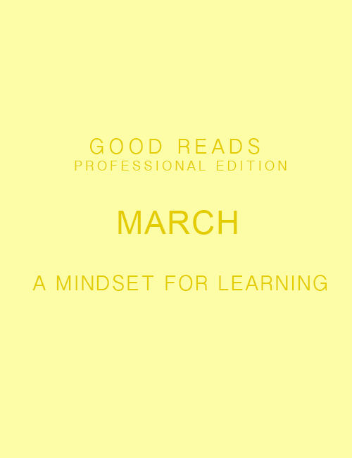 Good Reads: Professional Edition | March