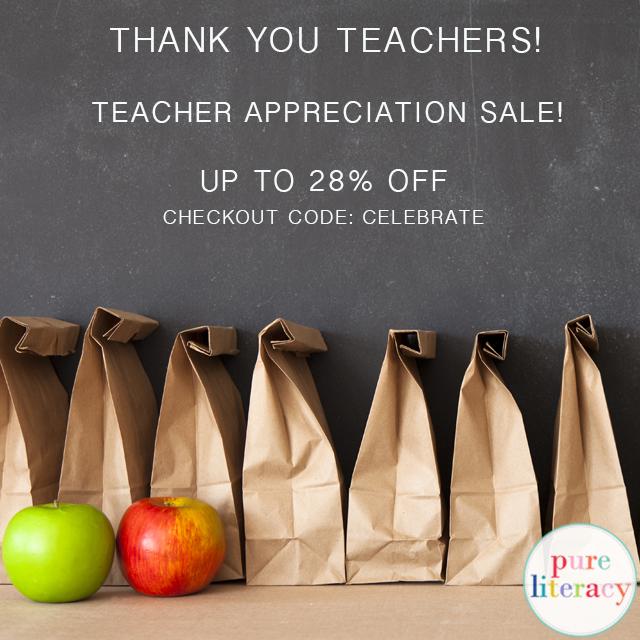 Teacher Appreciation Week TpT Sale!