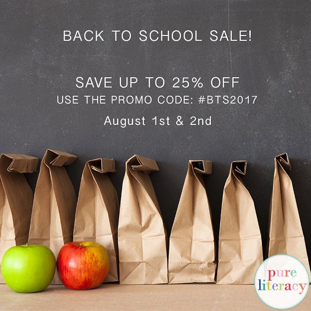 Are you Back To School Ready?!?! Don't miss out on TpT's back to school sale happening today and tomorrow! You can save up to 25% off so get stocked up for the new year! #btsreadywithtpt #bts2017 #tpt #tptsale #backtoschool #pureliteracy #teachersofinstagram #teachersfollowteachers