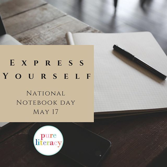 A new notebook holds the promise of writing adventures ahead. Who else loves cracking open a brand new notebook? #nationalnotebookday #happywriting