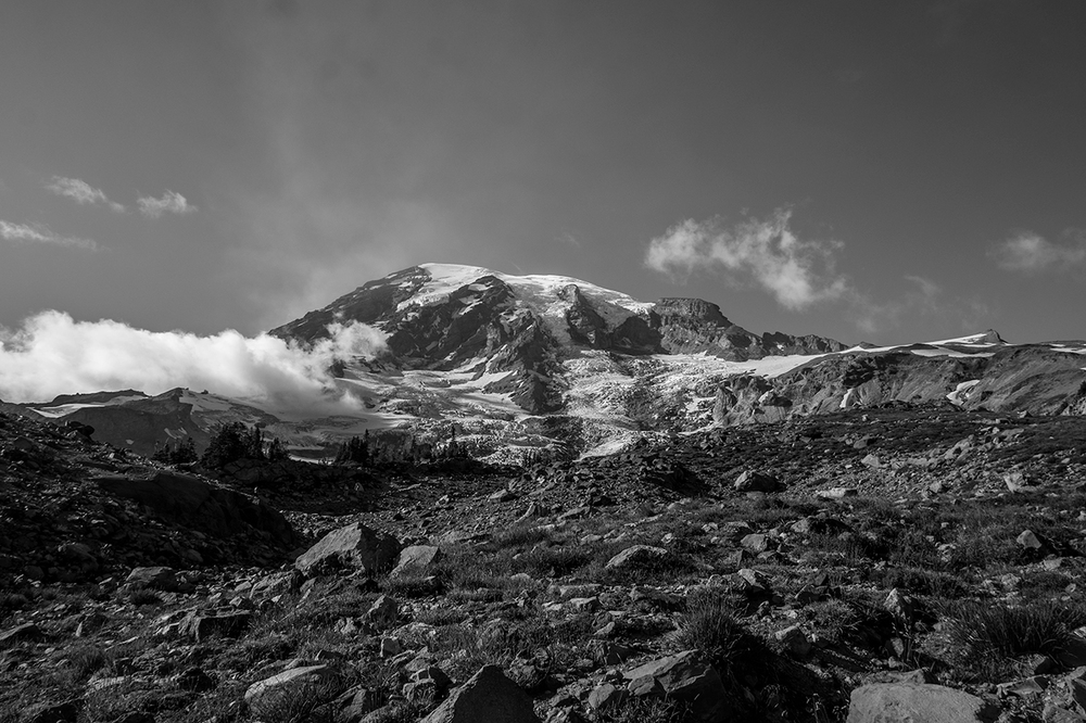 Mount Rainier from Panorama point.    Prints available upon request.