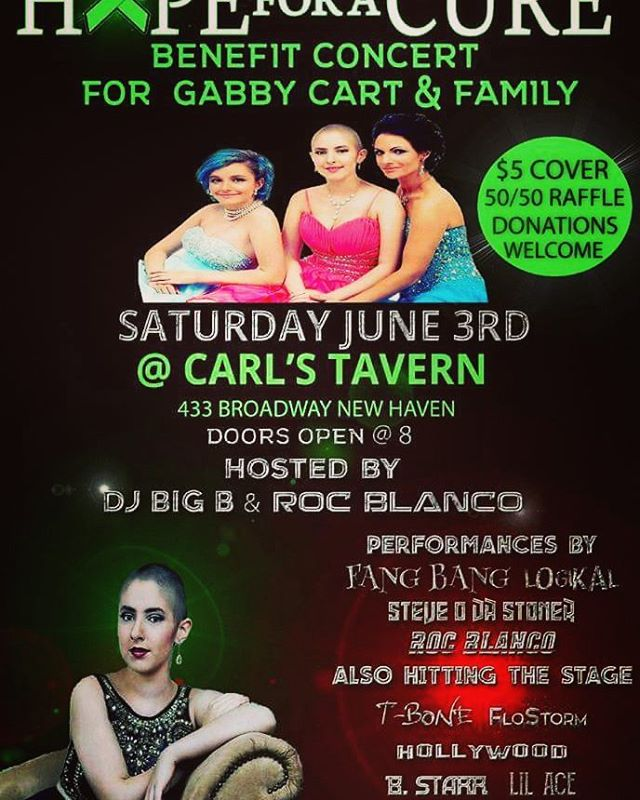 Benefit show in June @ CarlsTavern in New Haven IN... hope to see some support for the lady of honor #ISalute  Truly honored to perform at this event.