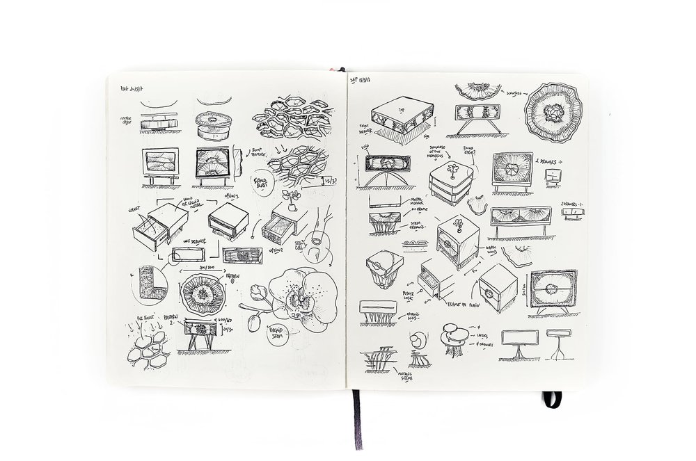 Mendel Project - Liquid Metal Furniture - Francois Hurtaud Design - Sketch - .JPG