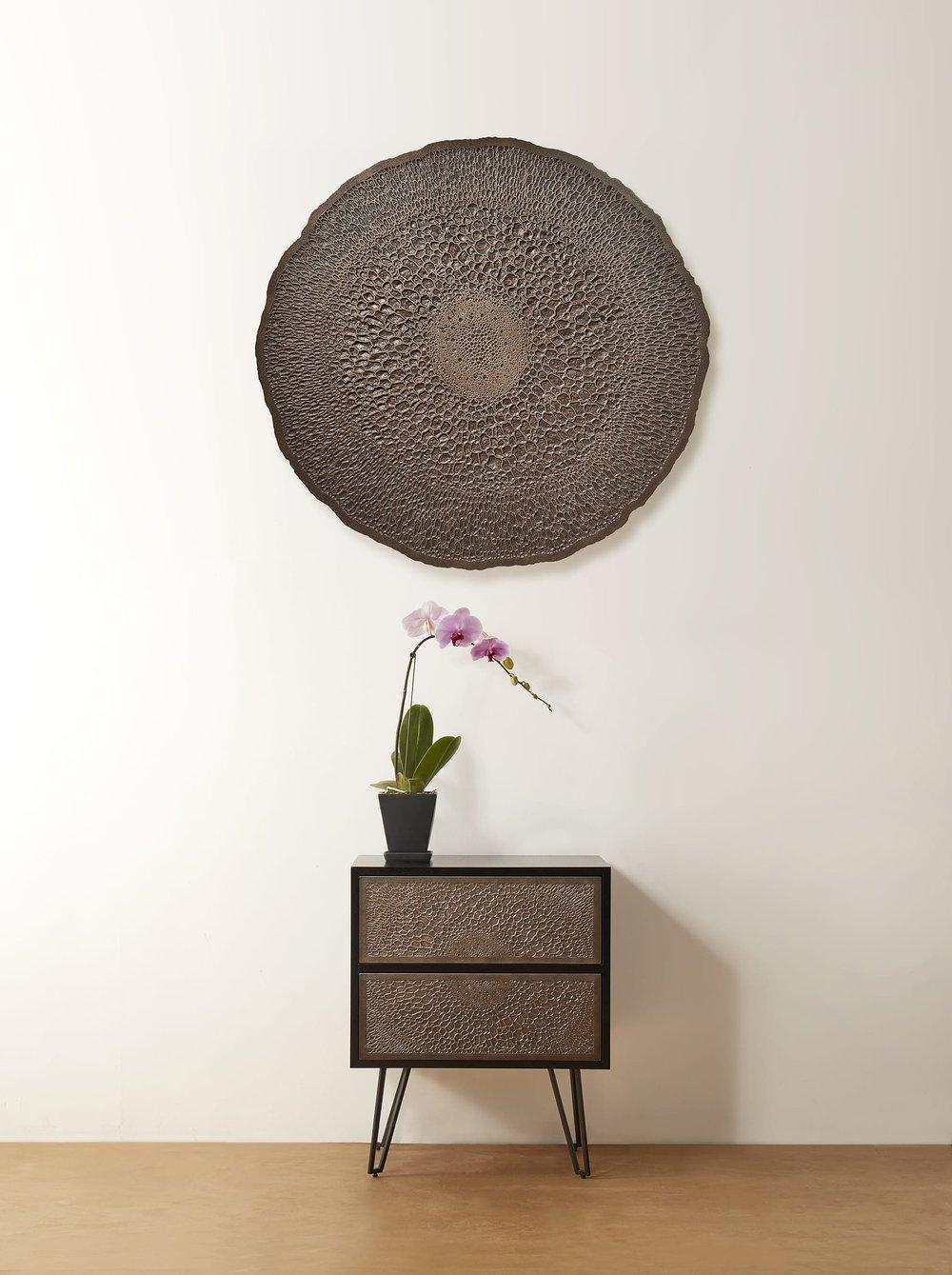 Mendel Project - Liquid Metal Furniture - Francois Hurtaud Design - Orchid Art Piece.jpg