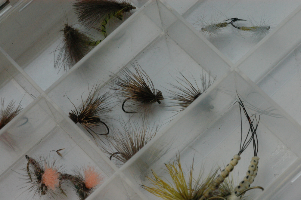 Loaded up with Fulling Mill Dries, all of which are superb patterns for my local waters.