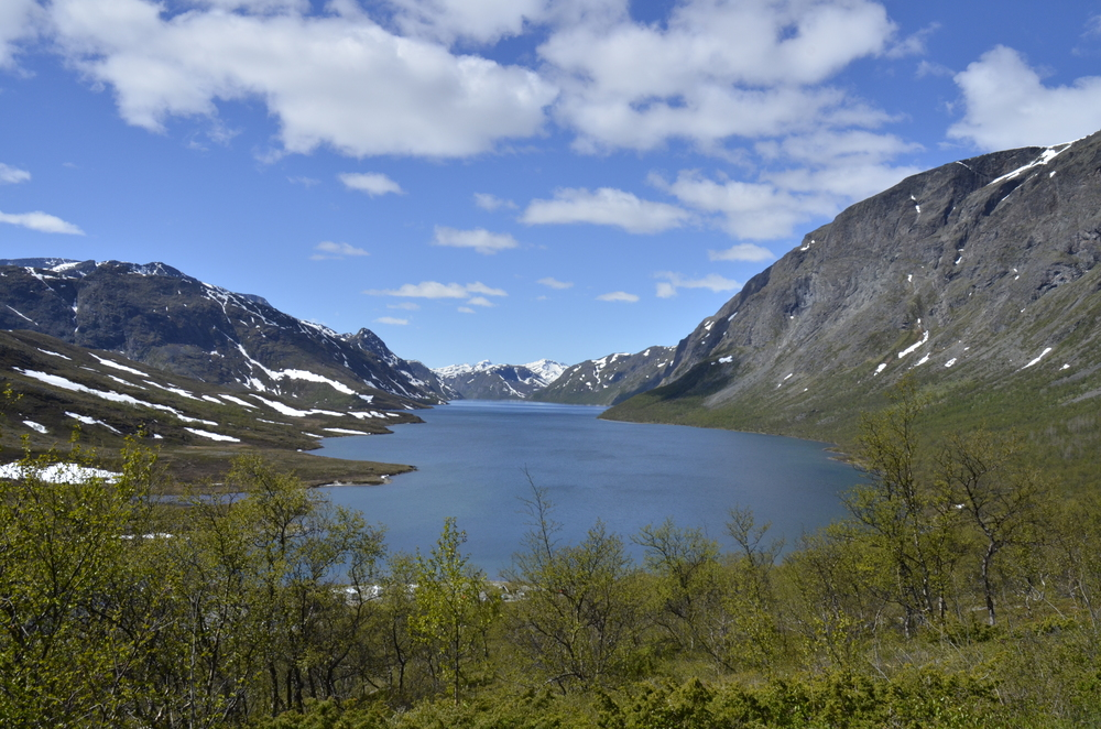 Lake Gjende.