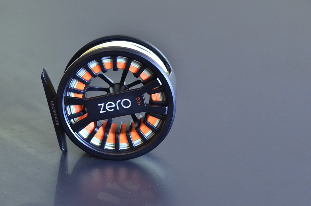 The 4-5wt model of the new Redington Zero reel