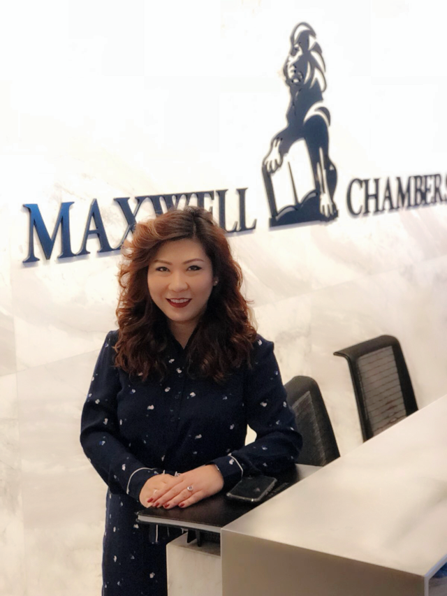 Ms Katherine Yap, the Chief Executive of Maxwell Chambers.