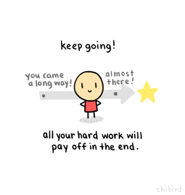 Your achievements will be a result of your hard work.