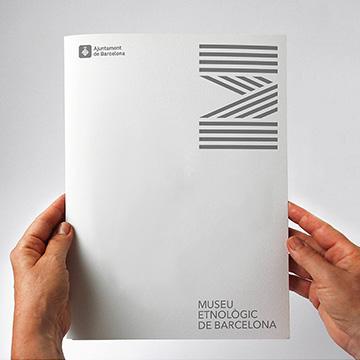 Museu Etnològic de Barcelona by PFP, disseny gràfic