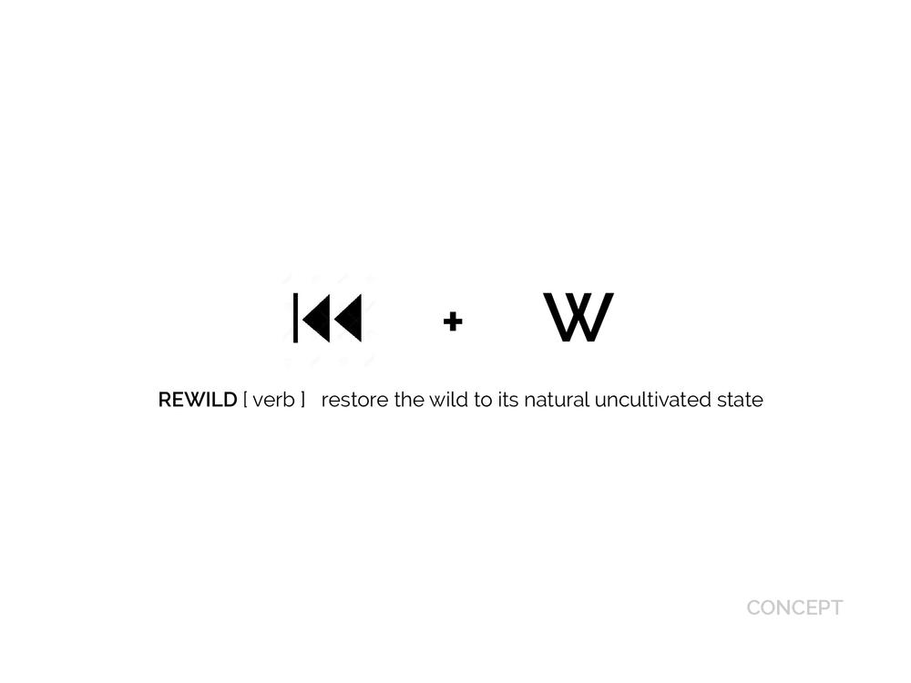 Rewild brand concept by Chiara Mensa