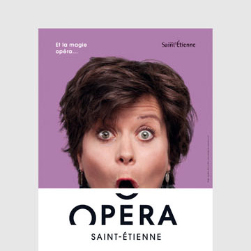 Oldie but goodie: Opera Saint-Étienne by Graphéine