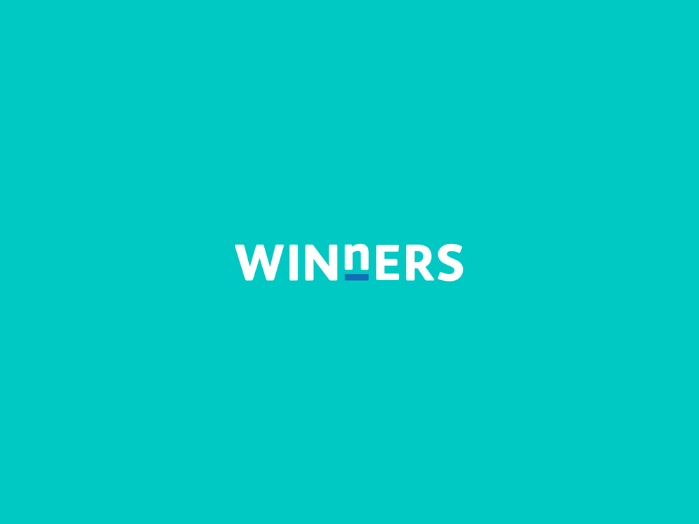 WINnERS colour reversed logo