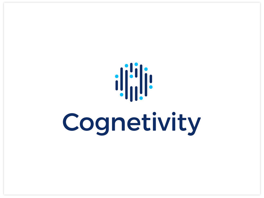 Cognetivity bespoke brand design, by Chiara Mensa for Onespacemedia