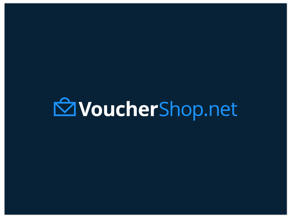 Vouchershop.net bespoke brand design, by Chiara Mensa for Onespacemedia