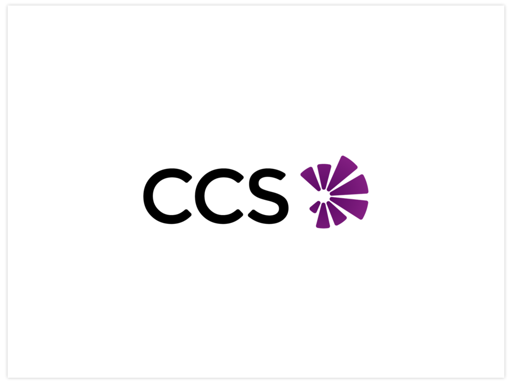 CCS bespoke brand design, by Chiara Mensa for Onespacemedia