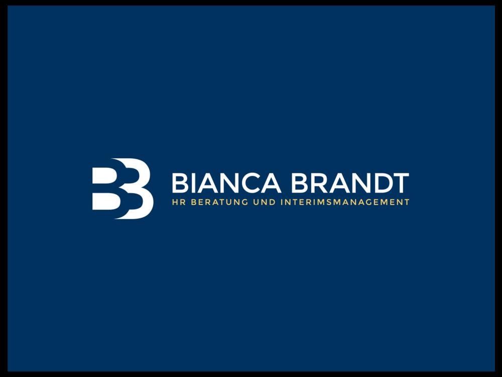 Bianca Brandt HR bespoke brand design, by Chiara Mensa