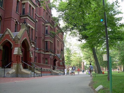 (Matthews Hall, Harvard Yard, Photopin)