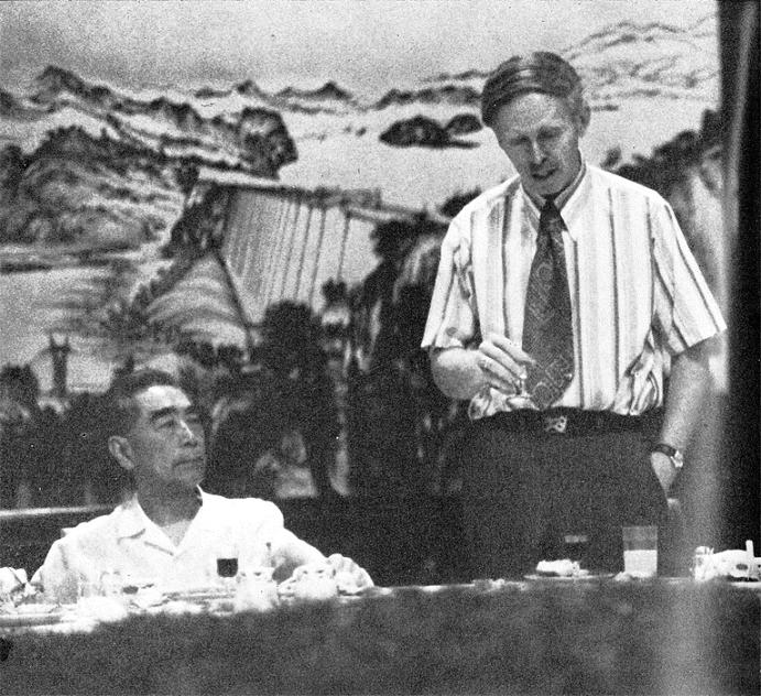 Zhou Enlai and Jerome Cohen