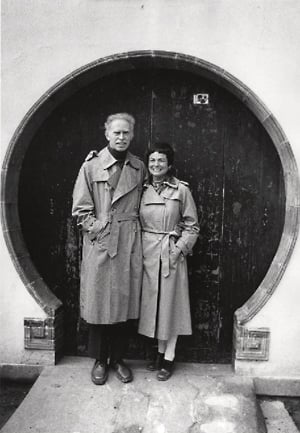 Jerome and Joan at a moon gate, a traditional freature of Chinese gardens, 1979.jpeg