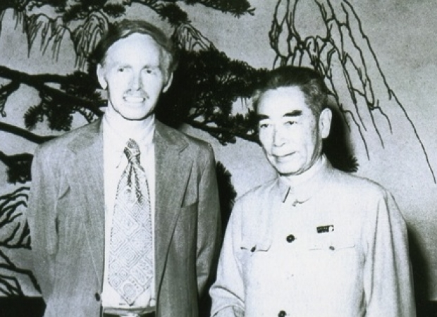 Jerry and Zhou Enlai, 1972