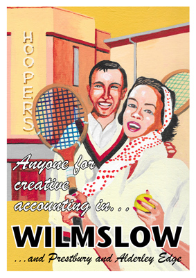 The Wilmslow poster from Statement Artworks
