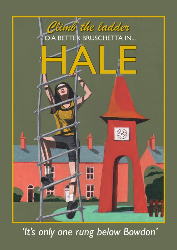 Hale, one of the most fashionable places in the north west.