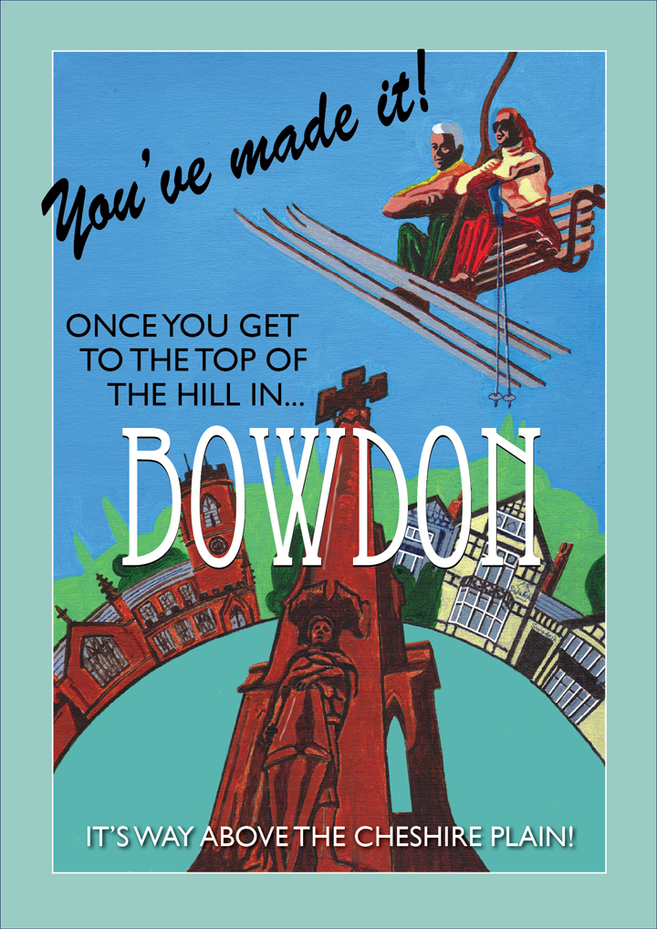 Bowdon poster - by Statement Artworks