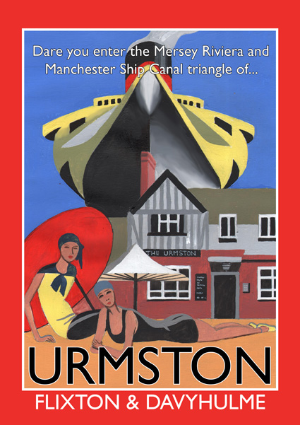 The original Urmston poster