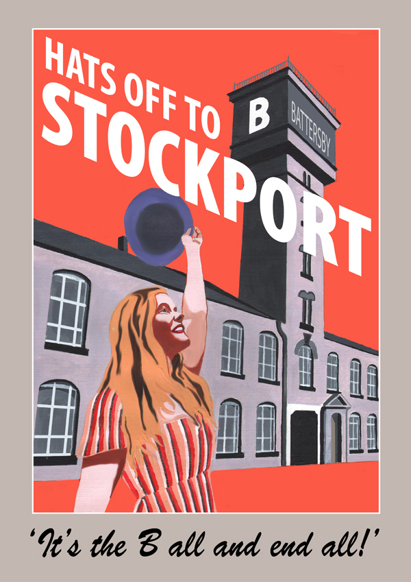 Stockport poster