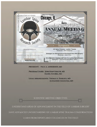 10th Annual Meeting      Final Program Book