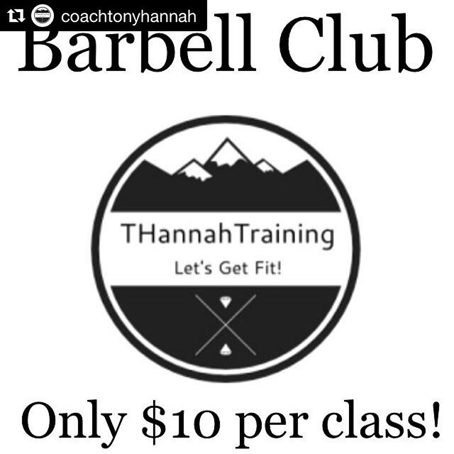 #Repost @coachtonyhannah with @get_repost ・・・ 💥Looking to unlock your true strength? Look no further!💥 -Starting in April I'm running a barbell club out of CrossFit Kolòna this will be a private class only for individuals who aren't afraid to put hard work in to better them selves physically as well as mentally. -Movements will consist of squats, deadlifts, presses, snatch, clean & jerk, and more to help find your potential. -Classes will be kept small (5 or fewer) to ensure each athlete gets the attention they deserve. -Pricing will be $10 per session. Each class will be approximately 1 hour including warm up, drills, and training. -As of now classes will take place on Tuesdays and Thursdays at 630pm with the option to had more times and days when needed. -Private message or email me if you're interested. Time to get strong!