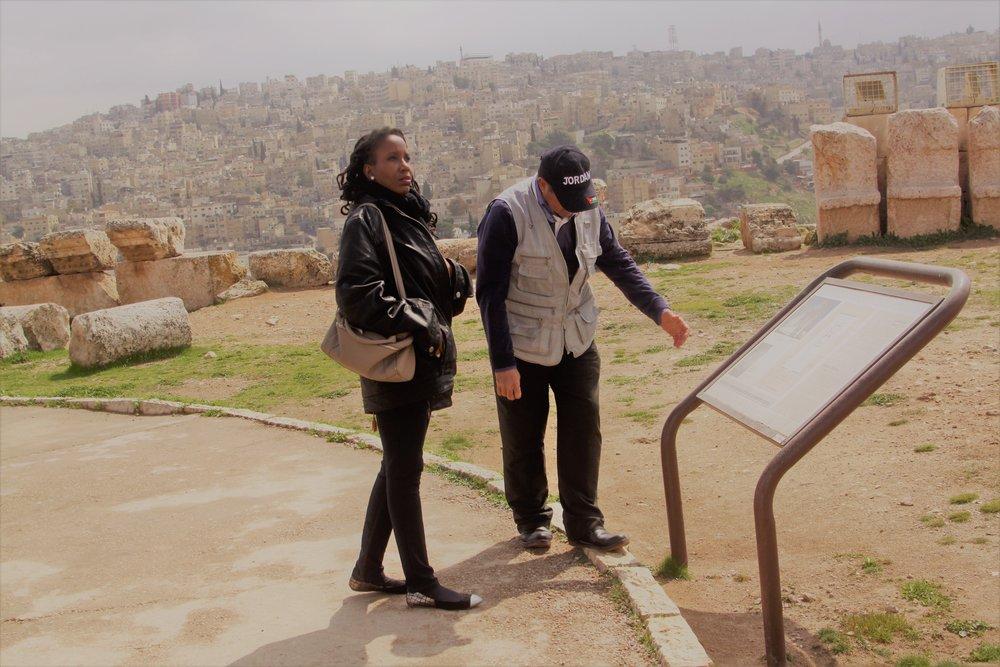 The Citadel, Amman, Jordan.