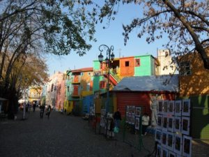 Colourful streets of La Boca